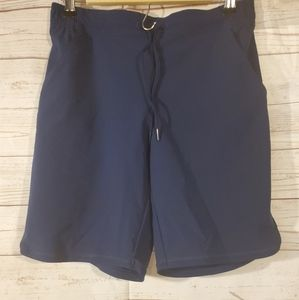 Lands End Sport Blue Shorts